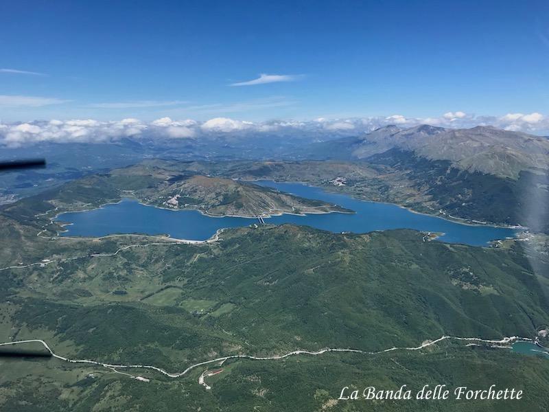 Avioturismo Abruzzo Lago di Campotosto