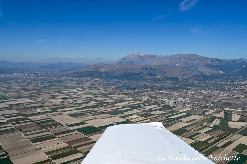 Avioturismo Abruzzo Piana del Fucino