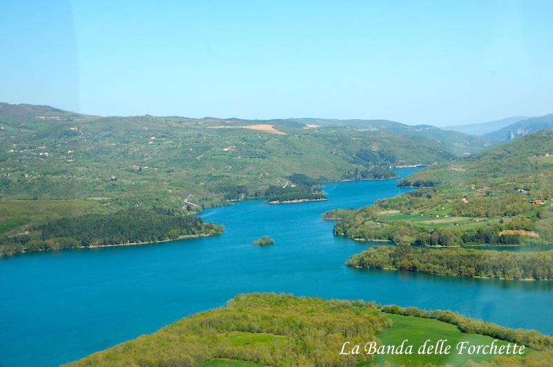 Avioturismo Basilicata Lago del Pertusillo