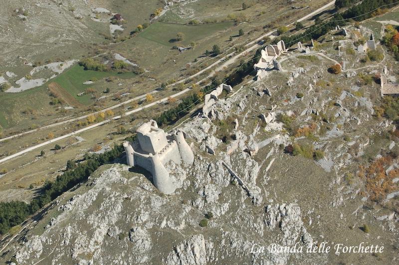 Avioturismo Abruzzo Rocca di Calascio