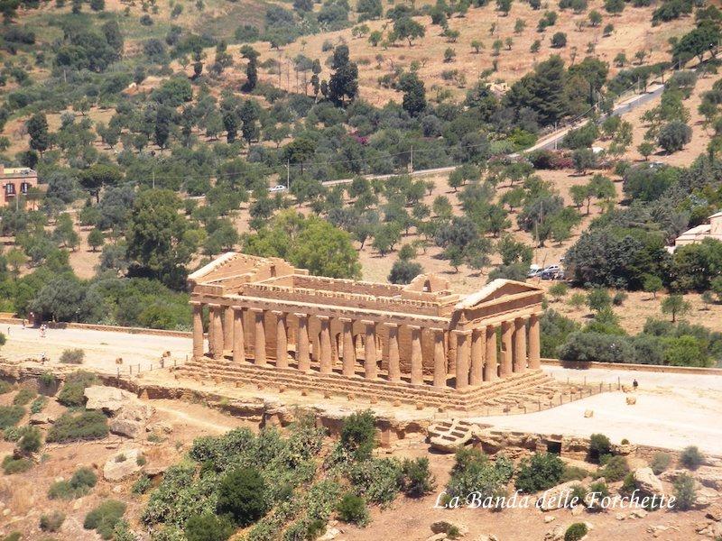 Avioturismo Sicilia tempio della Concordia