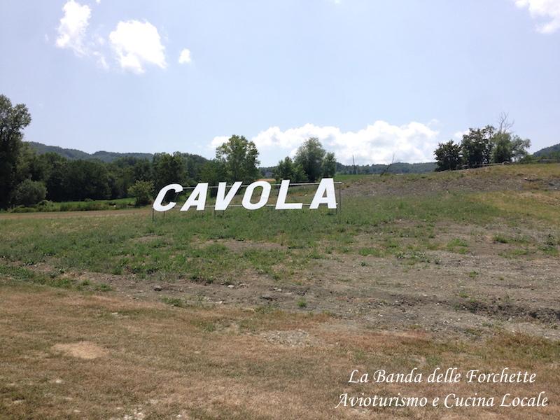 AVIOTURISMO - Cavola e il Parmigiano Reggiano di montagna
