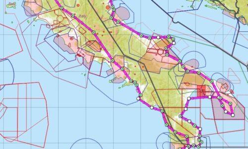 "AVIOTURISMO – Volo ""coast to coast"" al Sud – Parte I^"