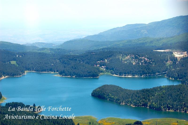 Avioturismo Calabria Lago Ampollino