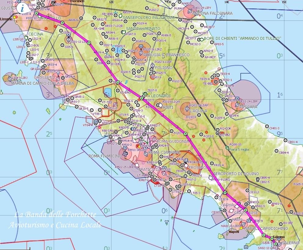 Avioturismo Volare Sud Italia
