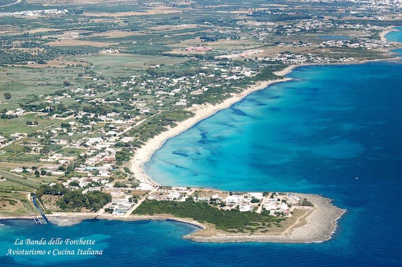 Avioturismo Puglia Punta Prosciutto