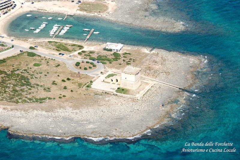 Avioturismo Puglia Torre Lapillo