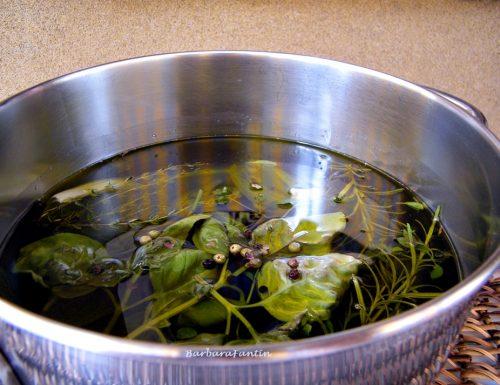 Nettare degli Dei – ricetta per olio aromatizzato