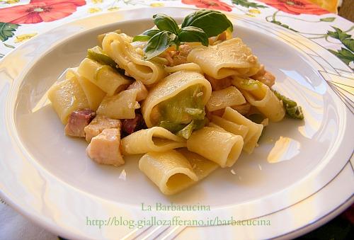 Pasta con friggitelli e pesce spada primi piatti pesce for Primi piatti di pasta