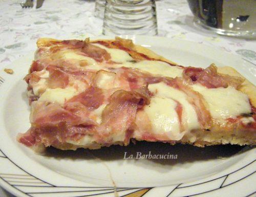 Pasta per pizza, ricetta base
