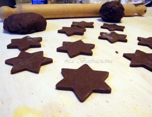 Pasta frolla al cioccolato senza uova, ricetta base