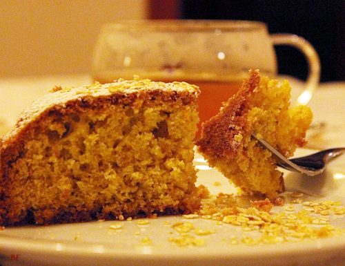 Torta con fiocchi di avena, ricetta dolci