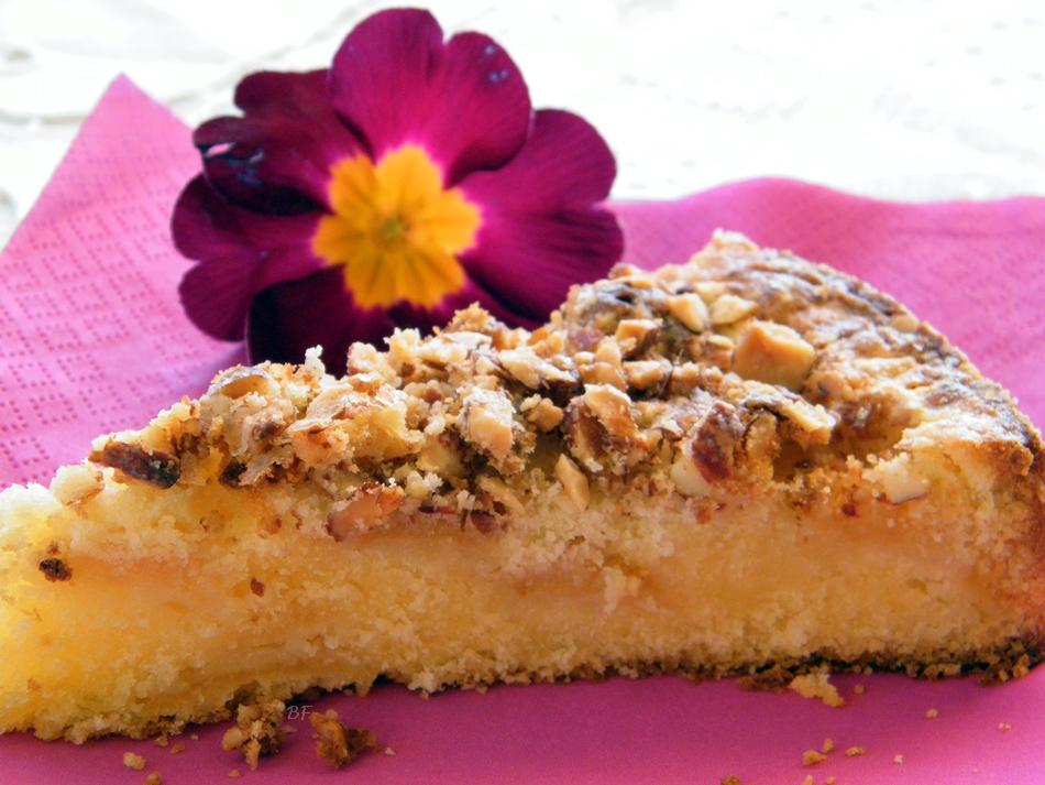 Ben noto Torta di mele, mandorle con farina di riso - ricetta dolce MG34