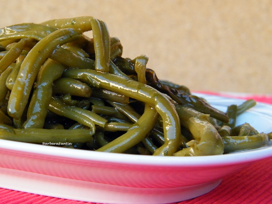 Fagiolini verdi stufati, ricetta contorni, ricetta estiva