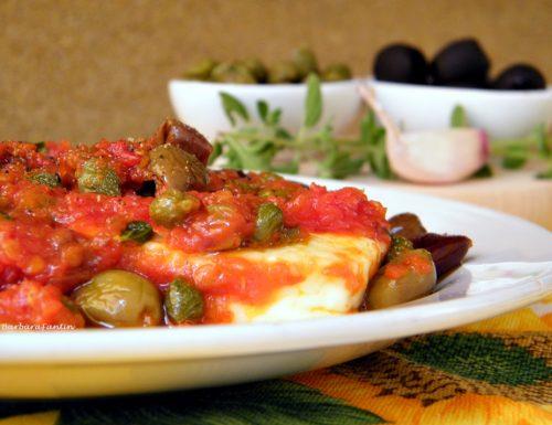 Tosella ai sapori mediterranei, ricetta facile e veloce