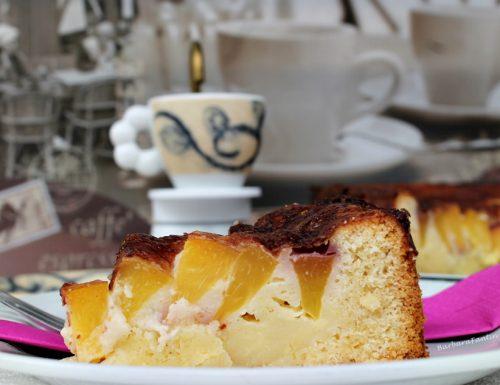 Torta peschenoci e panna, ricetta dolce
