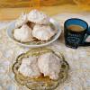 Biscottini al cocco meringati, ricetta dolce