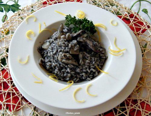 Risotto al nero di seppia, ricetta con il pesce
