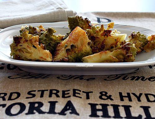 Cavolo romano con formaggio grana – ricetta contorni