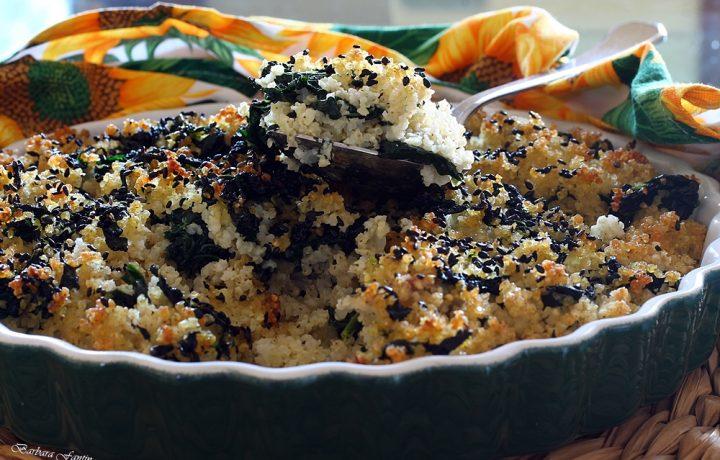 Miglio con cavolo nero, ricetta vegan, ricetta senza glutine