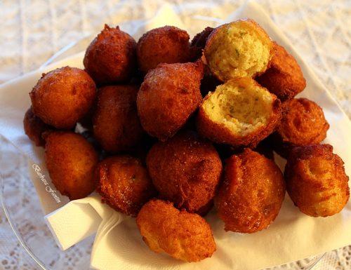 Frittelle di ricotta con arancia, lime, bergamotto – ricetta di Nicola