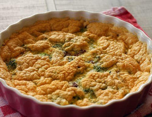 Frittata al forno con broccolo e ciliegino secco