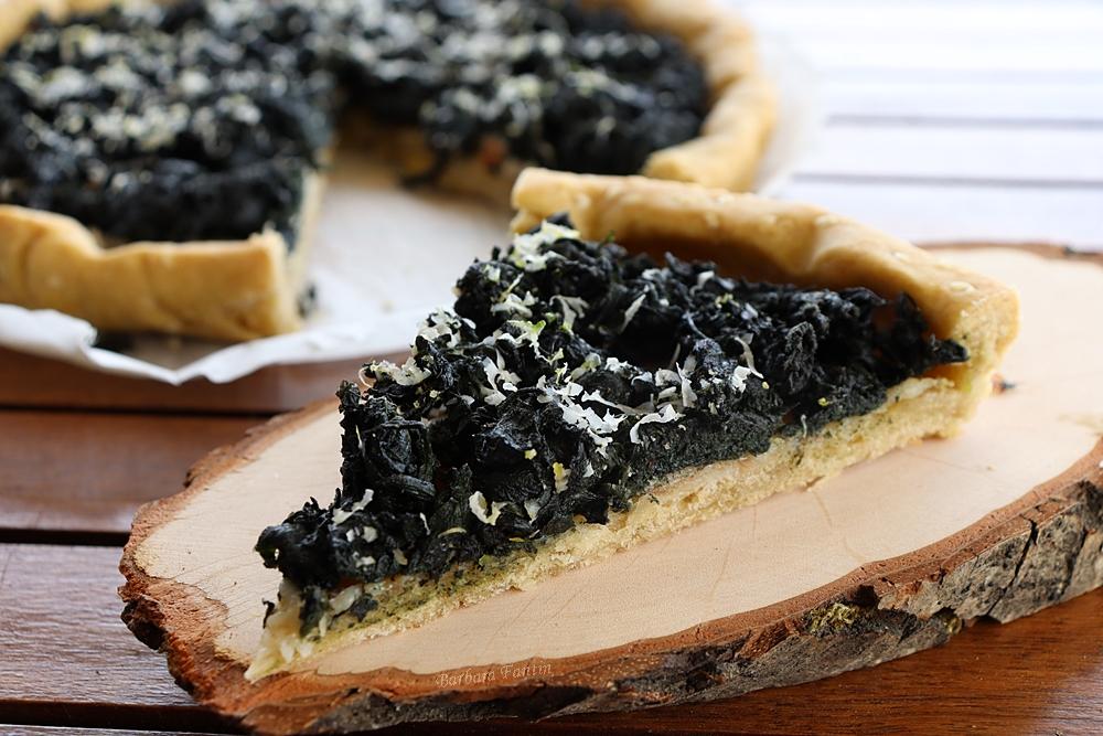Torta salata con ortiche e pancetta - La Barbacucina