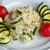 Riso freddo con salmone e zucchine – ricetta estiva