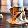 Roll di melanzana, torrone Sperlari, Caprino – ricetta antipasti