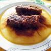 Spezzatino in umido con polenta, ricetta piatto unico