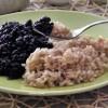 Lenticchie Beluga e riso integrale, ricetta vegana