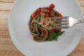 Scialatielli salsiccia, melanzane e mozzarella