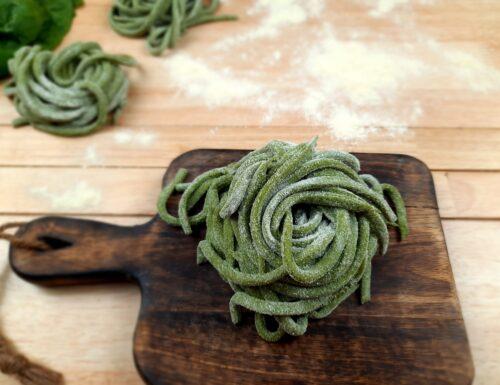 Scialatielli agli spinaci