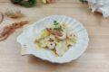 Insalata gamberi, carciofi e Parmigiano