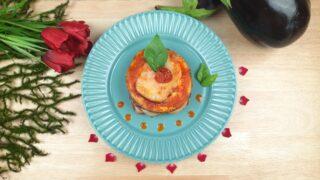 mini parmigiana di melanzane