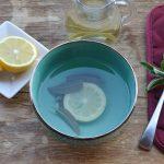 Decotto di limone e salvia