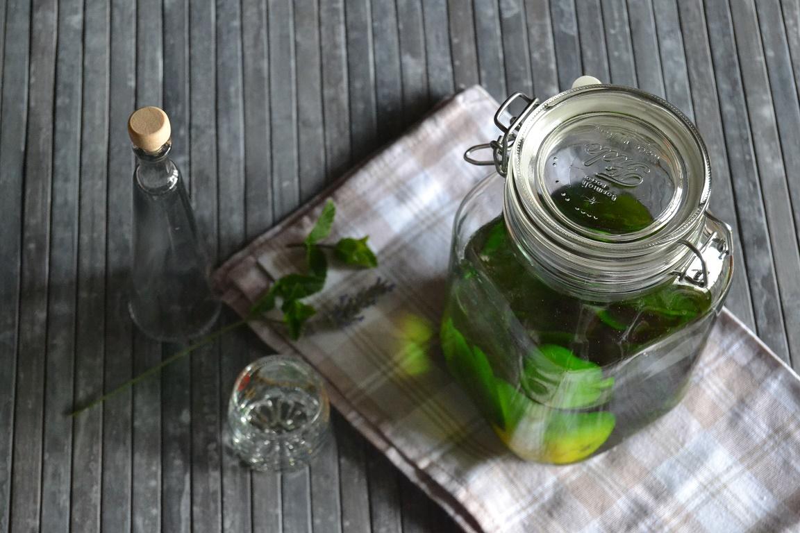 Liquore menta e limone