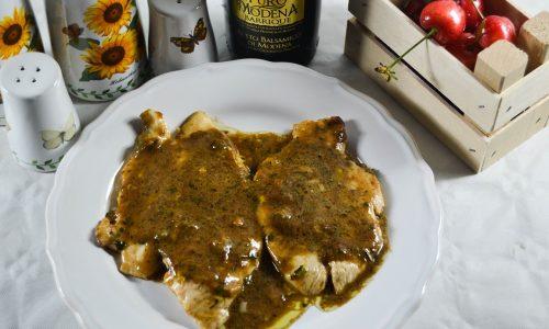Fettine di pollo con crema al gorgonzola