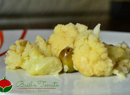 Cavolo soffocato – Cavolfiore con le olive