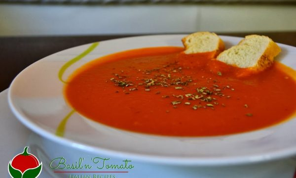 Zuppa di pomodoro facile e sana