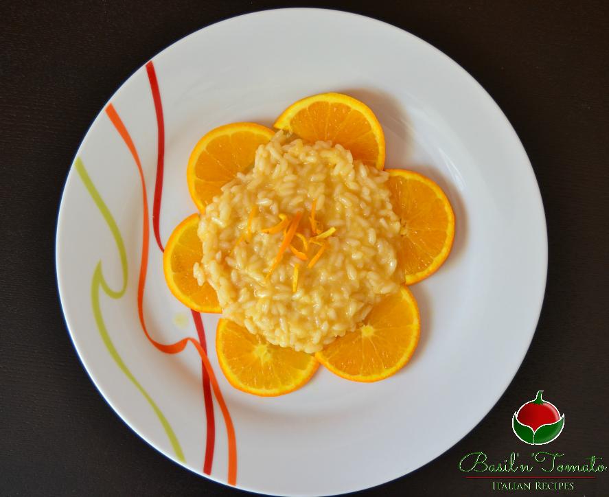 Risotto all'arancia e pepe bianco