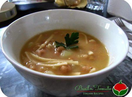 Zuppa di ceci e patate