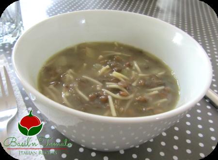 Zuppa di lenticchie facile