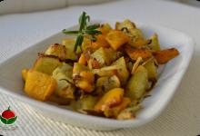 Zucca gialla e patate dolci al forno