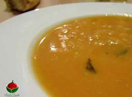 Zuppa di lenticchie rosse e orzo – Bimby