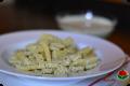 Pasta al pesto di nocciole - ricetta vegana