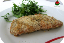 Salmone croccante all'aneto