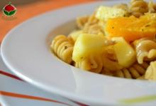 Insalata di pasta con la frutta – Ricetta Spagnola
