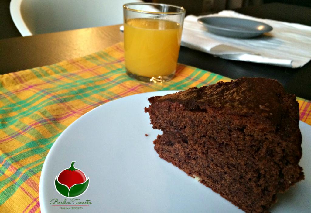 torta al cioccolato senza bilancia