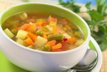 Zuppa di verdure miste